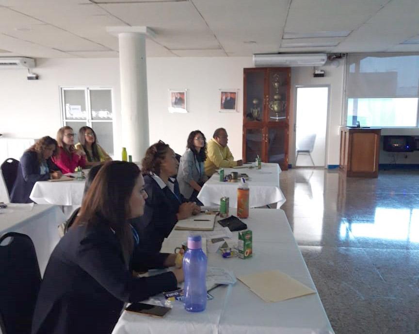 Profesionales de la ONSEC participan en cursos para actualización de conocimientos