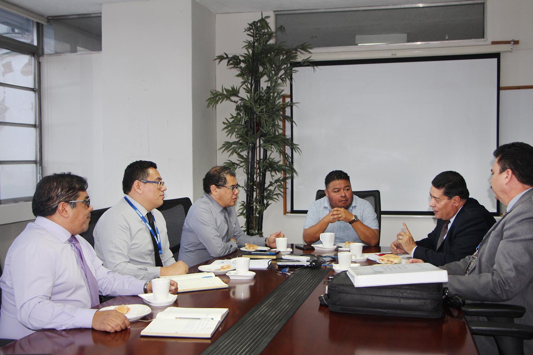 La ONSEC brinda asesoría técnica al MINEDUC